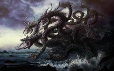 A Hidra de Lerna (em grego antigo: Ὕδρα), na mitologia grega, era um monstro, filho de Tifão e Equidna,[1] que habitava um pântano junto ao lago de Lerna, na Argólida, hoje o que equivaleria à costa leste da região do Peloponeso.[2] A Hidra tinha corpo de dragão[2] e 3 cabeças de serpente[1][2] (quando uma delas cortadas crescia 2 no lugar da cortada) [carece de fontes] cujo hálito era venenoso[3] e que podiam se regenerar.
