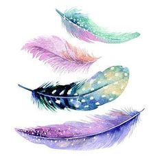 Feather Drawing, Feather Wall Art, Watercolor Feather, Feather Painting, Watercolor Paintings, Feather Wallpaper, Feather Pattern, Feather Tattoos, Book Design