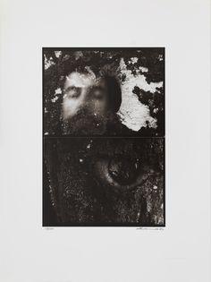 """RAFAEL NAVARRO """"Díptico nº 36"""" Fotografia sobre papel baryta. Tiraje de 50 originales realitzados por contacto por el propio autor autor. 13/50. 25,9x17,8cm"""