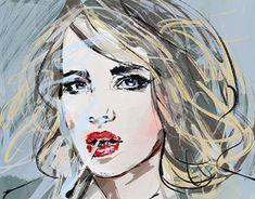 New Work, Digital Art, Photoshop, Fashion Illustrations, Gallery, Creative, Anime, Behance, Portraits