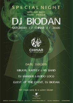 #chinar #special #event #guest #dj #biodan #from #Prague #pinterest