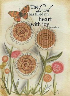 1 Samuel 2:1 ~ joy