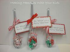 Homemade Christmas Gifts ~ For a baker