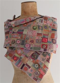 This scarf is so fabulous - I want to take it with me to the movies... it's always so chilly in there.