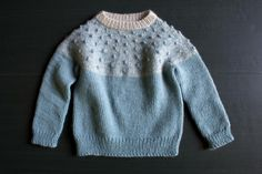 Bobble Yoke Sweater for Babies + Toddlers The Purl Bee