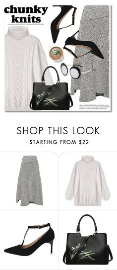 """Chunky knits"" by fshionme ❤ liked on Polyvore featuring 3.1 Phillip Lim and chunkyknits"