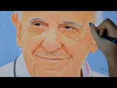 Watch More: https://www.youtube.com/channel/UCfWsUkz5X6KYdGMDn7isIIg  Pope Francis Speed Drawing created using colored pencils. #popefrancis #papafrancesco #drawing #portrait #visualart