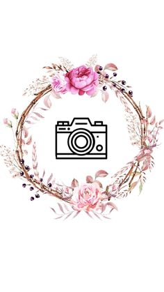 Instagram Frame, Instagram Logo, Instagram Story Ideas, Tumblr Wallpaper, Iphone Wallpaper, Linda Nails, Makeup Wallpapers, Insta Icon, Floral Logo