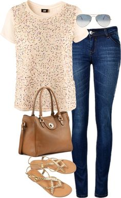 Perfect date night outfit. Beautiful Outfits, Cool Outfits, Casual Outfits, Fashion Outfits, Womens Fashion, Spring Summer Fashion, Spring Outfits, Glamour, Sunglasses Outlet