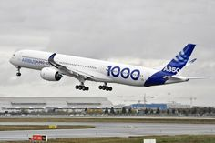 The first Airbus A350-1000, the stretched variant of the A350 family widebody aircraft, has successfully completed its first flight today in Toulouse.