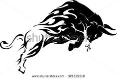 Find Raging Bull Flame Trail stock images in HD and millions of other royalty-free stock photos, illustrations and vectors in the Shutterstock collection. Thousands of new, high-quality pictures added every day. Tribal Arm Tattoos, Body Art Tattoos, Cool Tattoos, Tattoo Sketches, Tattoo Drawings, Toros Tattoo, Widder Tattoos, Taurus Bull Tattoos, Bull Images