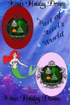 Part of Ariel's World 4 x 6 Layered Photoshop template by KingsHolidayDesign on Etsy