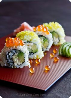 California Roll   Easy Japanese Recipes at JustOneCookbook.com
