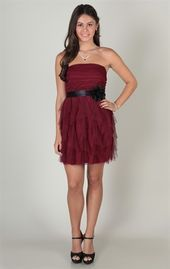 Pretty Homecoming Dress from Deb