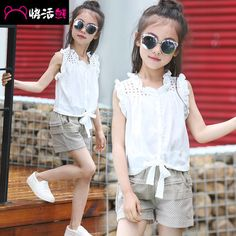 #aliexpress, #fashion, #outfit, #apparel, #shoes Five, #girls, #<font><b>summer</b></font>, #suit, #six, #cuhk, #children, #dress, #eight, #short, #sleeve, #T-shirt, #shorts, #two-piece, #<font><b>women</b></font>, #9, #children, #12, #at, #age, #of, #10 http://s.click.aliexpress.com/e/znEYN7a6u