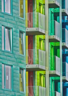 Rainbow View by Bjorn Christian Finbraten Oslo, Norway Oslo, Facades, Norway, Interior Decorating, Rainbow, Christian, Places, Pictures, Beautiful
