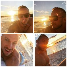 Sunset and I  #pinkiesbeach #rottnestisland #sunset #selfie #beach #lovesummer #poser #sexy #sea #beachbum #beachlife #aussiebum #summer #sunsandsea #wa #perth #traveler #tourist #longweekend #joy #tanning #sharmut #slutpose #slut by boshkoda http://ift.tt/1L5GqLp