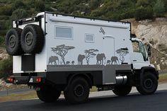 Unimog U500 4x4 Expedition Truck