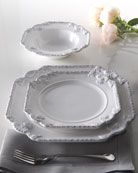 """""""Scroll"""" 16-Piece Dinnerware by HORCHOW"""