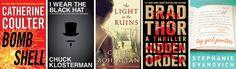 This Week's Bestsellers: July 22, 2013