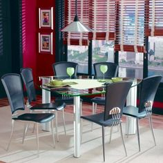 Enrica Triangle Counter High Dining Table Set - Triangle dining table set