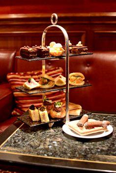The Power Afternoon Tea @Mandarin Oriental, Hong Kong Captain's Bar
