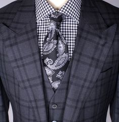 combination of many patterns - done successfully ▪️ MoreSuitsAndTies.com