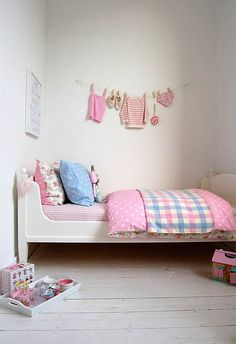 Simple girl's room