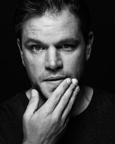 Matt Damon by Nigel Parry