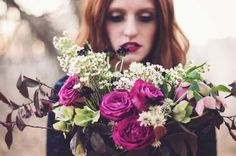 Corpse Bride // Day of the Dead Bridal Inspiration & Friday LINK LOVE | Images: Jordan Zobrist Photography