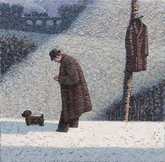 Catto Gallery | Mark Edwards Solo Exhibition 2016 | Walking Home