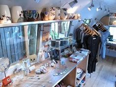 A boutique/vintage store in an Airstream...thats my dream to own one day