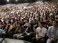 AMLO lleno completo en el Auditorio del TEC de Monterrey