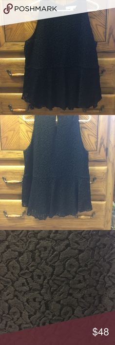 Loft Peplum Blouse Practically new. Only worn once. Cute but too big for me. LOFT Tops Blouses