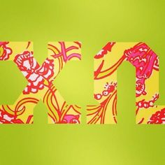 Chi Omega! #sorority #crafting #lilly
