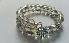 Handmade Clear & Pale Yellow Nursing / Breast by MsRetroDesigns, £9.99
