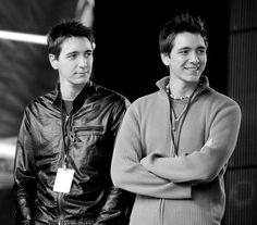 James & Oliver Phelps.