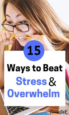 If you're feeling overwhelmed and always stressed, these 15 habits can help you manage everyday stressors and gain peace of mind. Natural Anxiety Relief, Natural Remedies For Anxiety, Anxiety Causes, Stress And Anxiety, Feeling Stressed, Feeling Overwhelmed, Stress Free, Stress Relief, News Health