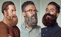 ANIMAL SHAPED BEARDS!!! (gives a whole new meaning to having pussy on your face..LOL)
