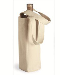 Liberty Bags - Single Bottle Wine Tote - 1725