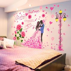 Discover the Beautiful Couple Bedroom Wallpapers Designs at The Architecture Design. visit for more images and ideas about Bedroom Wallpapers Designs. Wallpaper Design For Bedroom, Designer Wallpaper, Beautiful Couple, Most Beautiful, Couple Bedroom, Architecture Design, Couples, Pink, Wallpapers