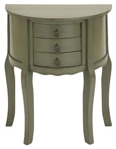 One Kings Lane - Power of Pairs - Delancey Nightstand, Olive