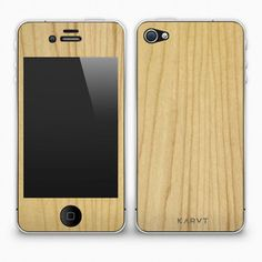 iPhone 4/4S Skin Maple now featured on Fab.