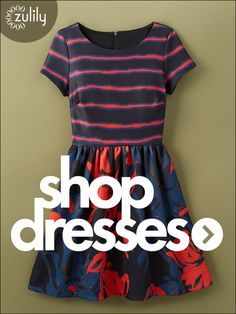 Sign up today to discover Stylish Dresses at prices up to 70% Off! Huge selection with new styles added each and every day! At http://zulily.com you'll find something special every day of the week!