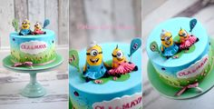 Cute Character Cake by Polka Dot Cakes