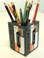 7 ideas para reutilizar cassettes
