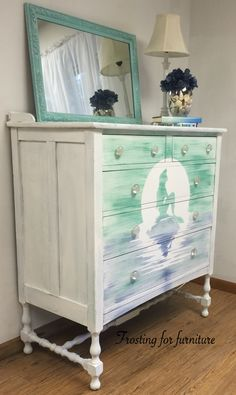 Ariel Dresser   This Is So Cute But I Wouldnu0027t Paint Our Nice Dresser.