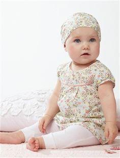 Ropa De Bebe Recien Nacido | Conjunto bebé niña recién nacida a 18 meses Marca: Vertbaudet