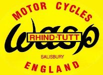 Wasp motor cycles logo