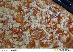 Meruňkový koláč s drobenkou recept - TopRecepty.cz